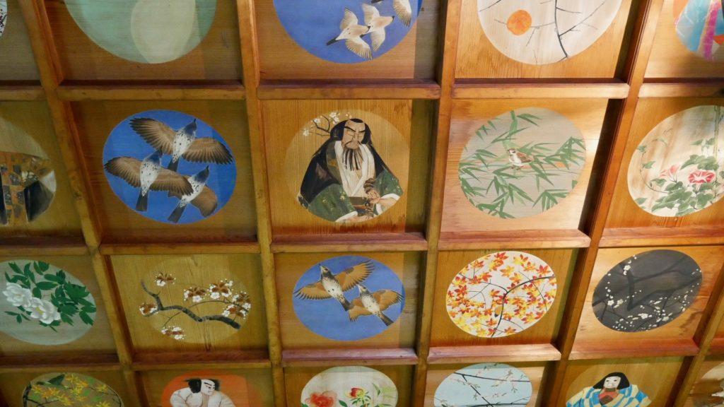 The ceiling of Tougan-ji in Nagoya
