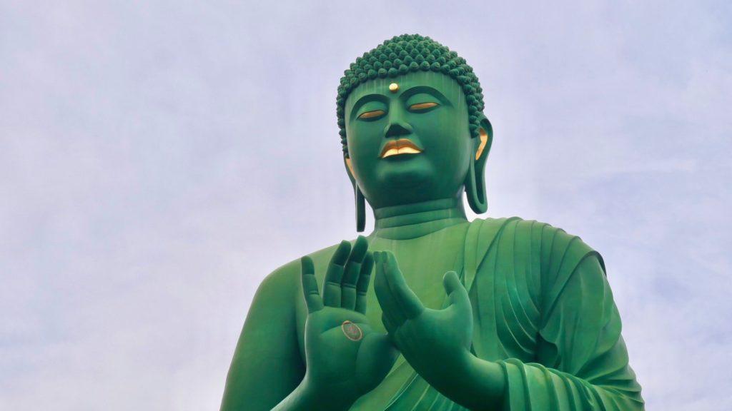 Nagoya Daibutsu (Great Buddha)) at Tougan-ji in Nagoya