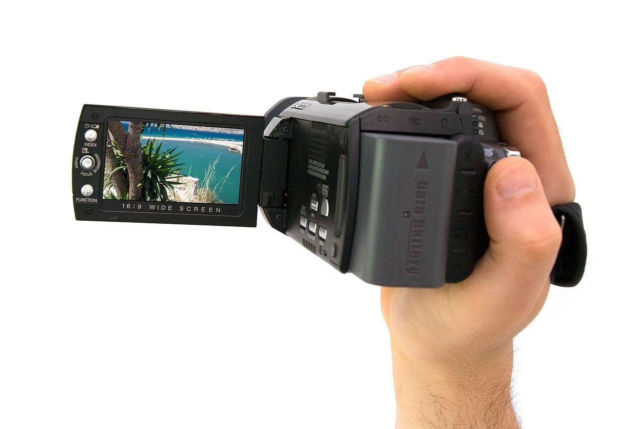 家庭用ビデオカメラ